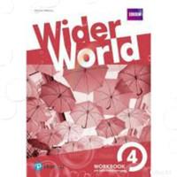 Buku Wider World 4 with CD Workbook