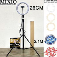 Ring Light 26cm + Light Stand Tripod 2M Selfie Vlogger Livestreamer