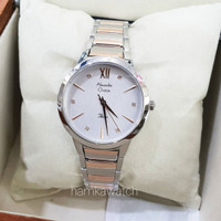 jam tangan alexander cristie original ac2765 silver rose gold
