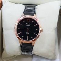 jam tangan alexander cristie original ac2765 black rose gold