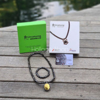 TERLARIS ! Kalung Kesehatan Ginsamyong Titanium Nano Gold Series 3