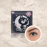 Softlens CUTIE CAT by Omega Eyecare - BLACK, NORMAL