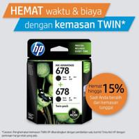 HP 678 BLACK INK CARTRIDGE COMBO 2 PACK L0S23AA