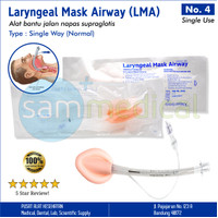 Forsch Laryngeal Mask Airway / LMA Disposable No 4