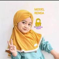 jilbab anak pita kelinci hijab bayi model cantik