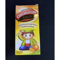 Cerebrofort Gold Jeruk 100 ml
