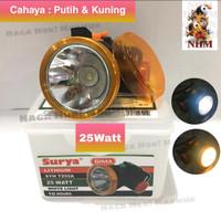 Senter Kepala Headlamp Surya 25Watt SYH T255A