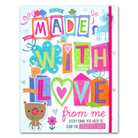 Made With Love From Me Book (Everything You Need to Send the Perfect G