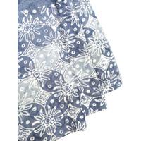 DOBY ABU PASTEL motif 5 dobi dobby bahan kain batik atbm kawung