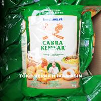 Bogasari Tepung Terigu Cakra Kembar Premium 1 KG