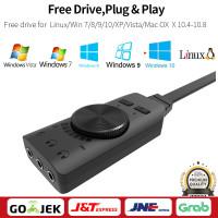 GS3 Virtual 7.1 Channel Sound Card Converter Adapter External USB
