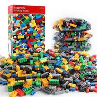 LEGO BUILDING BLOCK BRICKS 1000 PCS MAINAN EDUKASI