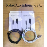 KABEL LIGHTNING TO 3.5 AUX AUDIO ADAPTER CABLE FOR IPHONE 7 / 8 / X
