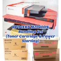 Mesin Fotocopy Print Scan Kyocera M2040Dn Bundling Set