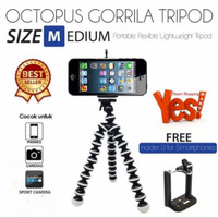 Fleksibel tripod /gorila pod size m holder hp