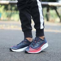 Sepatu Pria Sneaker Nike Zoom Fly 3 Red & Black Premium Import Quality