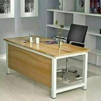 Meja kerja kantor palang uk 150*60*70