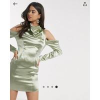 "Dress Import Merk Inggris ""ASOS"" Cold Shoulder Mini UK 14(Medium)"