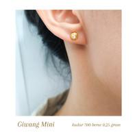 Termurah Giwang wanita mini simpel korean style emas asli