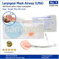 Forsch Laryngeal Mask Airway / LMA Disposable No 2