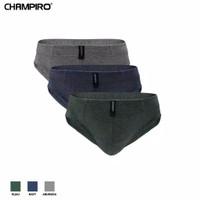 Champiro Briefs Cd Pria Dewasa Katun C0312C Perbox isinya 3Pcs