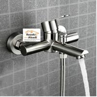 Kran Bathup Stainless Sus304 / Kran Mixer / Kran Shower Panas Dingin