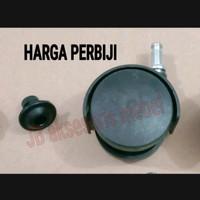 "RODA CASTER KURSI PLASTIK 2"" (50 mm) MODEL TANCAP COP HARGA PERBIJI"