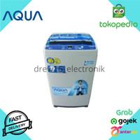 Mesin Cuci 1 Tabung Aqua Sanyo AQW77DH7. 7.5KG. Hijab Mode Otomatis
