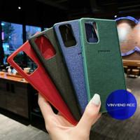 Case Cover Casing Canvas Denim Samsung Galaxy Note 10 Lite Note 10Lite