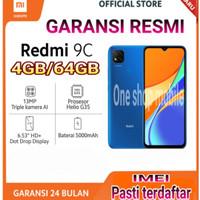 Xiaomi Redmi 9C Ram 4/64 Garansi Resmi