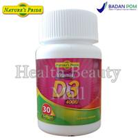 Nature's Pride Vitamin D3 400IU 30 Softgels - Menjaga Kesehatan Tulang