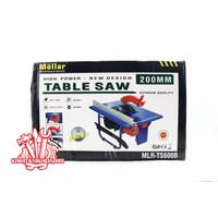 MOLLAR MLR-TS600B TABLE SAW 200MM MESIN GERGAJI LISTRIK MEJA 8