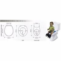 tutup dudukan toilet seat cover closet duduk anak dan dewasa