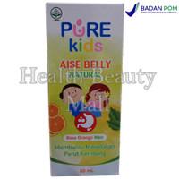Pure Kids Aise Belly Natural 60 ml - Meredakan Perut Kembung Purekids