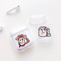 Case airpod 1 2 pro airpods casing toy story
