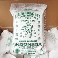 Tepung Tapioka Sagu Tani Cap Liauw Liong Pit 1 KG / Tapioca Flour