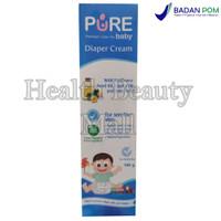 Pure BB Baby Diaper Cream 100 gr - Krim Ruam Popok - PureBaby PureBB