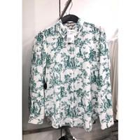 Kemeja HnM Wanita Shirt H&M Women Floral White Original