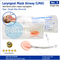Forsch Laryngeal Mask Airway / LMA Disposable No 3