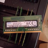 Sodimm ram laptop 8gb ddr4 pc4 3200aa 3200mhz SAMSUNG