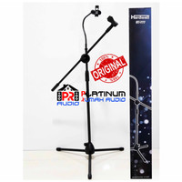 Stand Mic HARDWELL ST777 ST 777 ORIGINAL HOLDER HP STANDING MICROPHONE