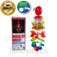 Merry Go Round Musical/ mainan musik anak putar / mainan bayi