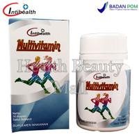 Intihealth Multivitamin 30 Kaplet - Multi Vitamin & Zinc