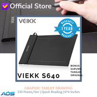 VEIKK S640 Digital Graphic Drawing Pen Tablet OSU Alt H420 G430 G640 - S640 Glove