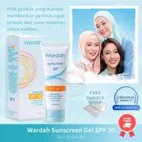 Wardah Sun Care Sunscreen Gel SPF 30 Skin Protector 40ml Sunblock