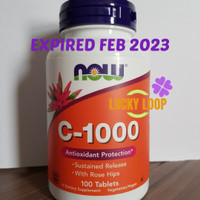 Now Foods Vitamin C1000 mg Now Vit C 1000 isi 100 Tablet