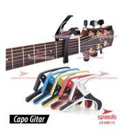 Capo Gitar - Penjepit Gitar SPEEDS 049-15 - Alumunium 14 x9cm original