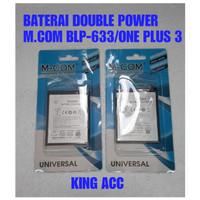BATERAI BATRE BATTERY BLP633 ONEPLUS 3T MCOM DOUBLE POWER BLP-633