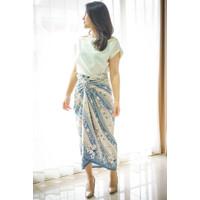 Rok lilit instant batik floral