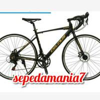 sepeda balap roadbike CELCIUS 700C 14SPEED ALLOY